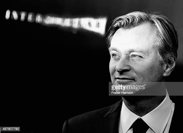 Director/writer/producer Christopher Nolan attends the premiere of Paramount Pictures' 'Interstellar' at TCL Chinese Theatre IMAX on October 26 2014...