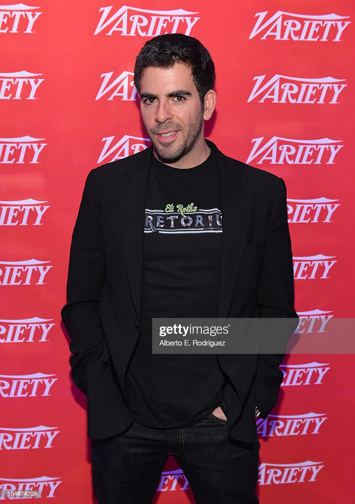Director-Writer-Producer, <a gi-track='captionPersonalityLinkClicked' href=/galleries/search?phrase=Eli+Roth&family=editorial&specificpeople=543948 ng-click='$event.stopPropagation()'>Eli Roth</a> attends the Variety's 2012 Film Marketing Summit in Association with Stradella Road at InterContinental Hotel on October 24, 2012 in Century City, California.