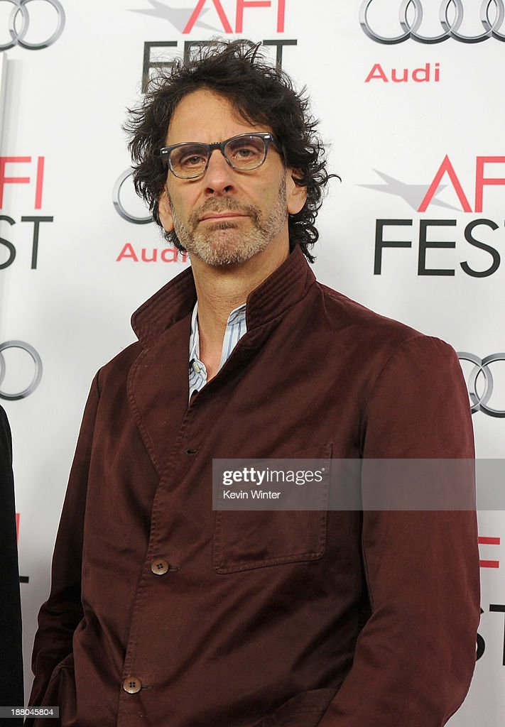 Director/writer/producer <a gi-track='captionPersonalityLinkClicked' href=/galleries/search?phrase=Joel+Coen&family=editorial&specificpeople=4292064 ng-click='$event.stopPropagation()'>Joel Coen</a> attends the AFI Premiere Screening of 'Inside Llewyn Davis' at TCL Chinese Theatre on November 14, 2013 in Hollywood, California.