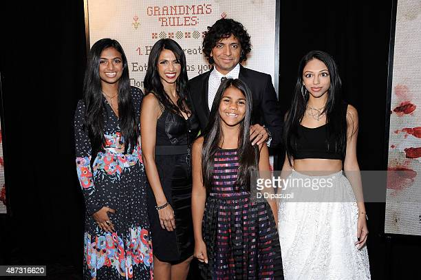 M Night Shyamalan Family Wife Bhavna Vaswani Ph...