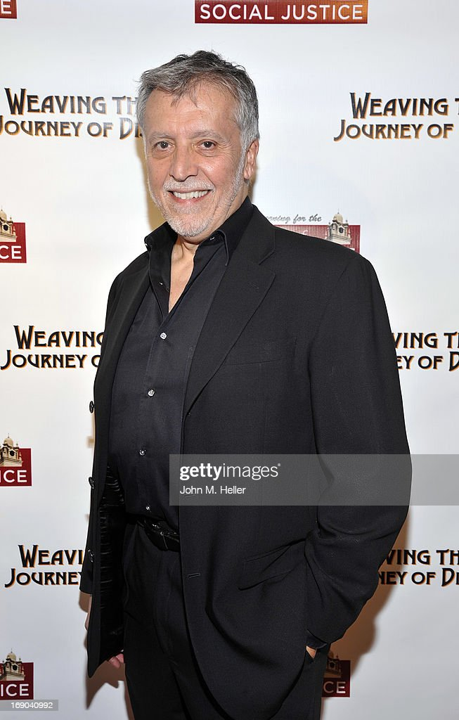 Director/writer/producer of 'Weaving The Past: Journey Of Discovery' Walter Dominguez attends the screening of 'Weaving The Past: Journey Of Discovery' at the Linwood Dunn Theater at the Pickford Center for Motion Study on May 18, 2013 in Hollywood, California.
