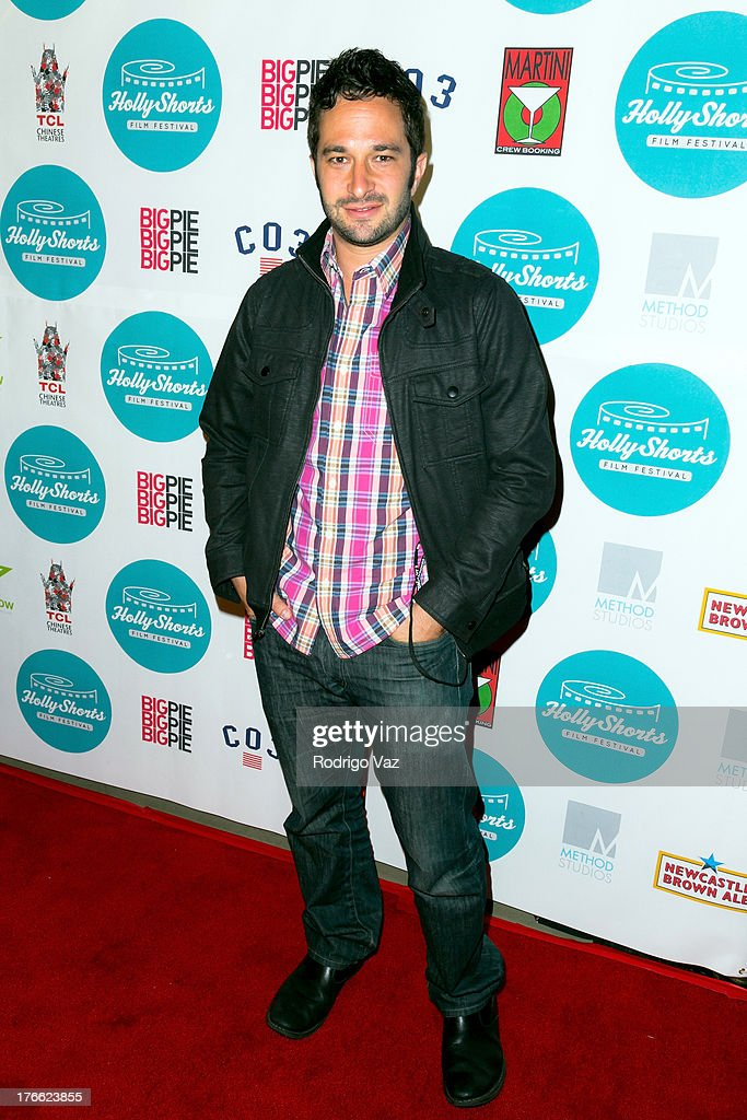 Directro Aaron Wolf attends the 9th Annual HollyShorts Film Festival Opening Night Arrivals at TCL Chinese Theatre on August 15, 2013 in Hollywood, California.