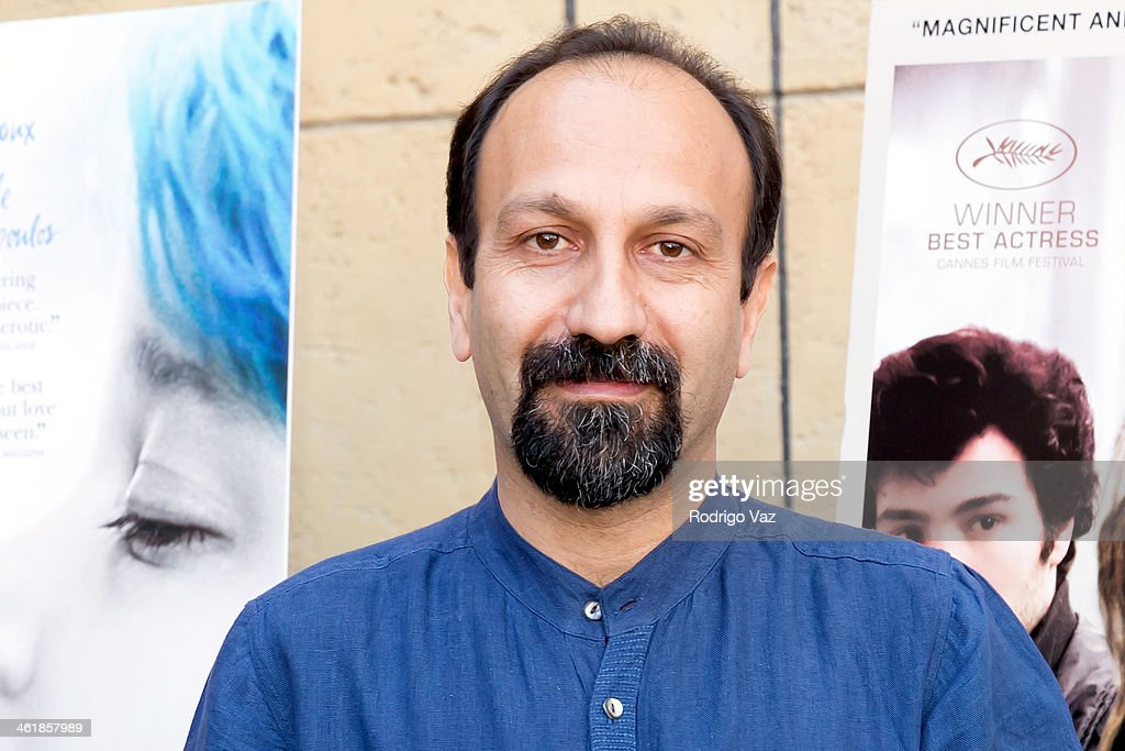 Directro <a gi-track='captionPersonalityLinkClicked' href=/galleries/search?phrase=Asghar+Farhadi&family=editorial&specificpeople=5700577 ng-click='$event.stopPropagation()'>Asghar Farhadi</a> attends the Golden Globe Foreign-Language Nominees panel discussion and screening series photo op at American Cinematheque's Egyptian Theatre on January 11, 2014 in Hollywood, California.