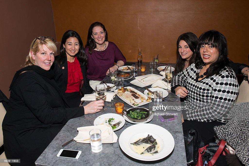 DirecTV executives attend The ONE Group's Ristorante Asellina celebrates two years on Park Avenue South NYC at Ristorante Asselina on February 27, 2013 in New York City.