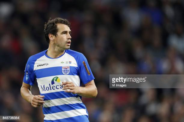 Dirk Marcellis of PEC Zwolle during the Dutch Eredivisie match between Ajax Amsterdam and PEC Zwolle at the Amsterdam Arena on September 09 2017 in...