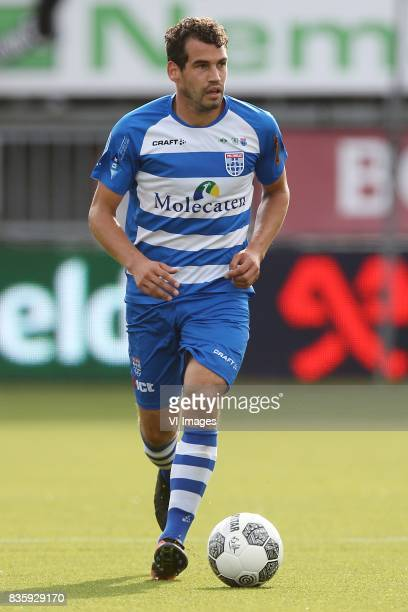 Dirk Marcellis of PEC Zwolle during the Dutch Eredivisie match between Sparta Rotterdam and PEC Zwolle at the Sparta stadium Het Kasteel on August 20...