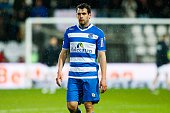 Dirk Marcellis of PEC Zwolle during the Dutch Eredivisie match between AZ and PEC Zwolle at the AFAS stadium on april 16 2016 in Alkmaar the...