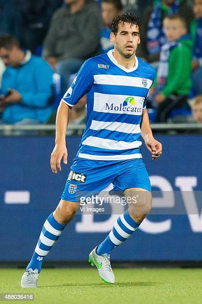 Dirk Marcellis of PEC Zwolle during the Dutch Eredivisie match between PEC Zwolle and Excelsior Rotterdam at the IJsseldelta stadium on September 12...