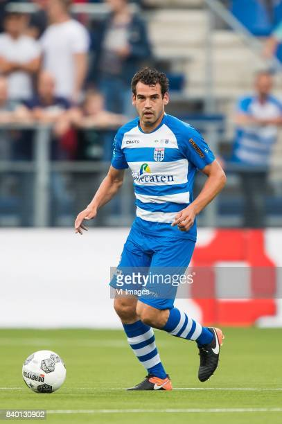 Dirk Marcellis of PEC Zwolle during the Dutch Eredivisie match between PEC Zwolle and FC Twente at the MAC3Park stadium on August 26 2017 in Zwolle...