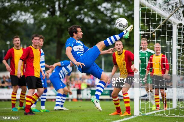 Dirk Marcellis of PEC Zwolle during the friendly match between sv Dalfsen and PEC Zwolle at Sportpark Gerner on July 08 2017 in Dalfsen The...