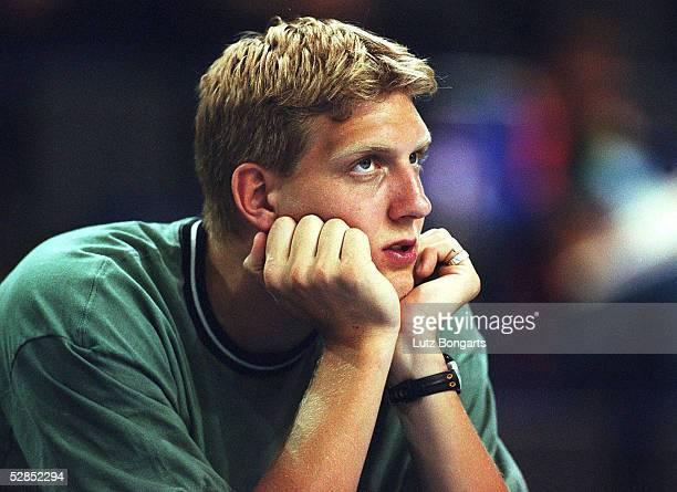 Supercup 1999 Berlin DEUTSCHLAND TUERKEI 8374 Dirk NOWITZKI/GER