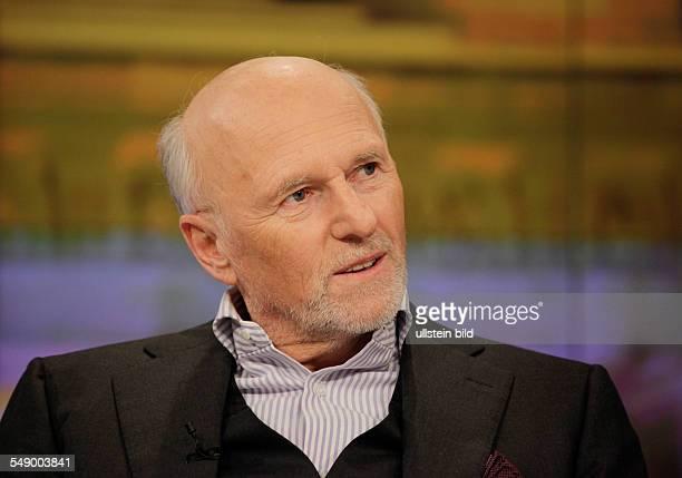 Dirk Roßmann Gründer und Geschäftsführer der Drogeriemarktkette Rossmann anlässlich ZDF Talkshow Maybrit Illner am in Berlin