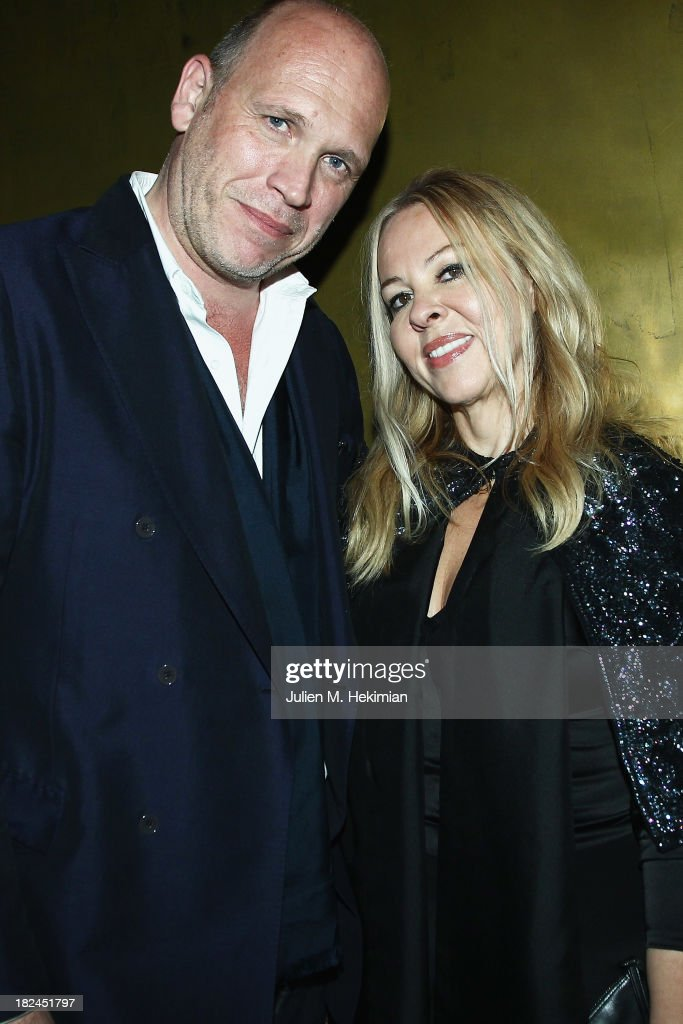 Dirk Standen and Susan Standen attend the Glamour dinner for Patrick Demarchelier as part of the Paris Fashion Week Womenswear Spring/Summer 2014 at Monsieur Bleu restaurant on September 29, 2013 in Paris, France.