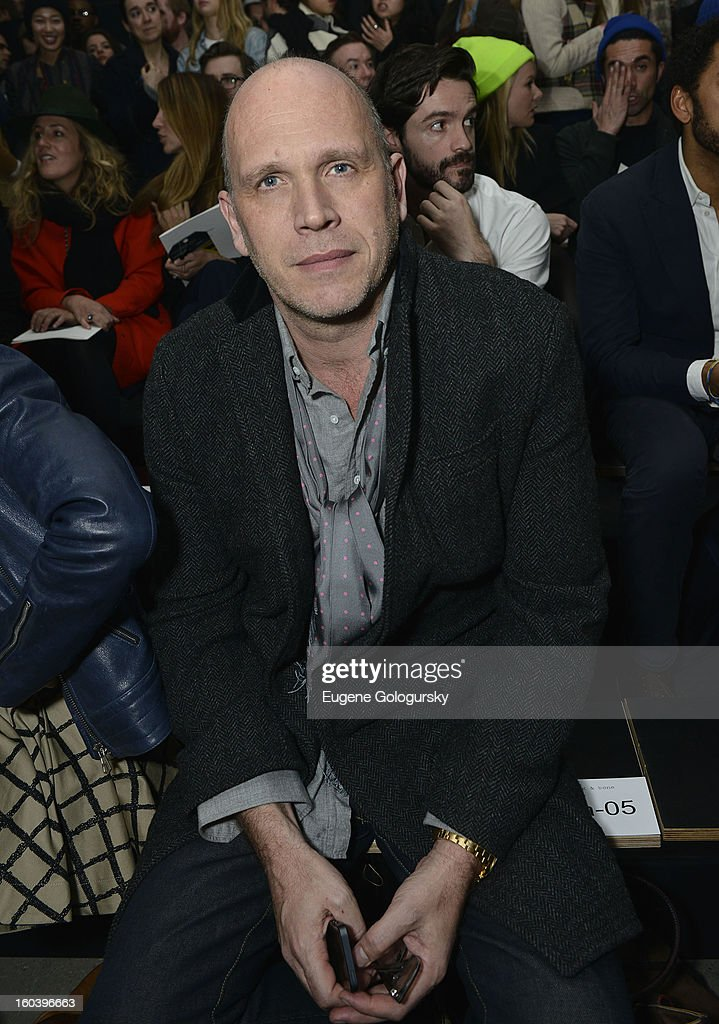 Dirk Standen attends the Rag & Bone Men's collection fall 2013 fashion show on January 30, 2013 in New York City.