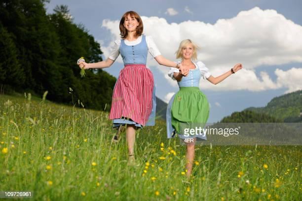 Costume bavarois été