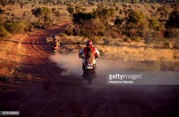 Dirt Bike Riding In Outback Australia