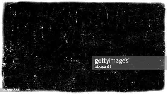 dirt film frame overlay : Stock Photo