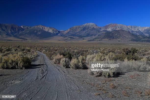 Dirt Road from Panum Crater