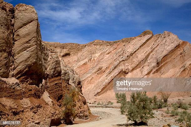 Dirt road through Canyon Sin Nombre