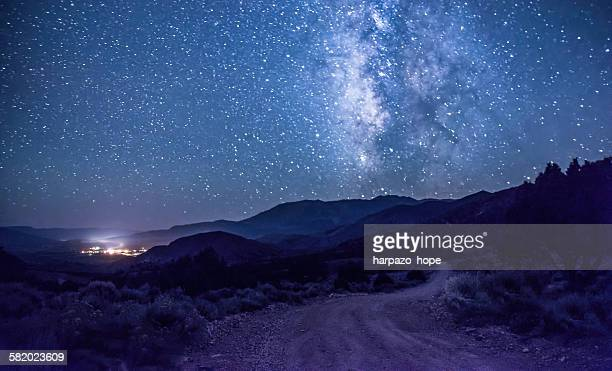 Dirt road to the Milky Way
