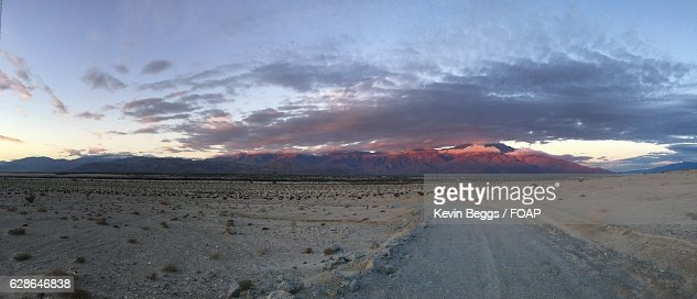 Dirt track at coachella valley