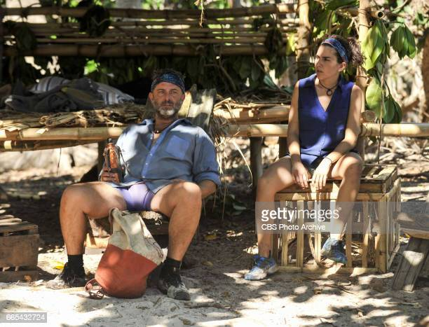 'Dirty Deed' Jeff Varner and Aubry Bracco on the fifth episode of SURVIVOR Game Changers airing Wednesday March 29 on the CBS Television Network