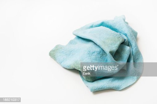 Dirty dish cloth