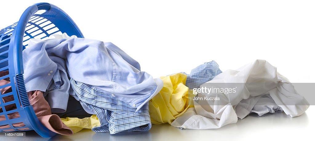 dirty laundry : Stock Photo