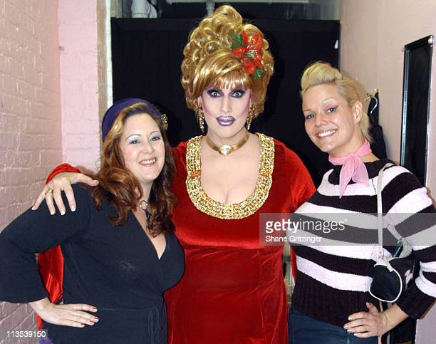 Dirty Martini Jackie Beat and World Famous 'Bob' during Jackie Beat's Eighth Annual Holiday Show 'Jackie Beat is the Holiday Ho' at The Cutting Room...