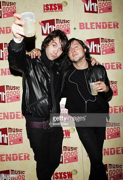 Dirty Pretty Things arrive at the Blender SXSW 20th Anniversary Celebration on March 15 2006 in New York City