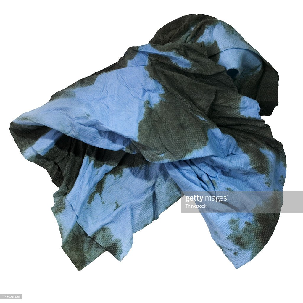 Dirty rag : Stock Photo