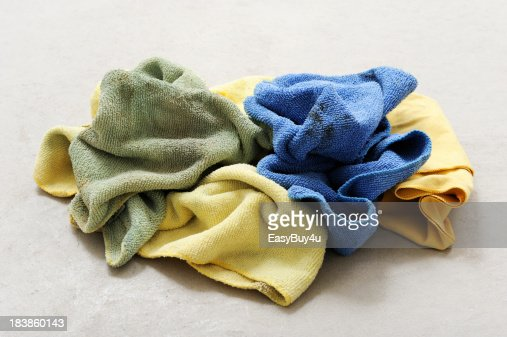 Dirty rags