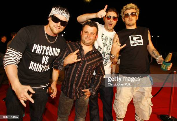 Dirty Sanchez during MTV Australia Video Music Awards 2007 Red Carpet at Superdome in Sydney NSW Australia