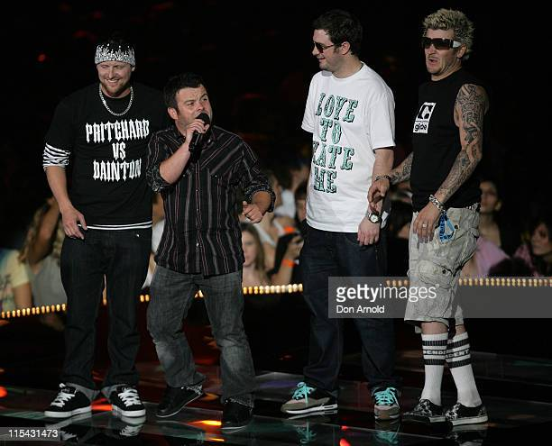 Dirty Sanchez during MTV Australia Video Music Awards 2007 Show at Superdome in Sydney NSW Australia
