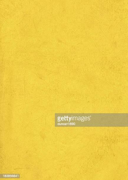 汚れた黄色の紙の質感
