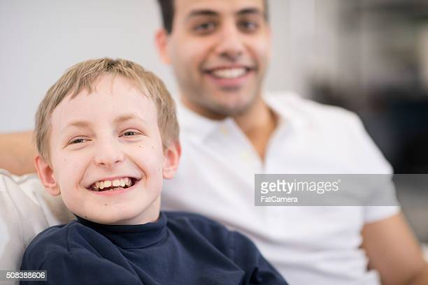 Disabled Child at the Hospital
