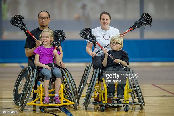 Disabled People Playing Sports