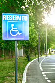 Wheelchair, Reserved Sign, Advice, Alertness, Authority