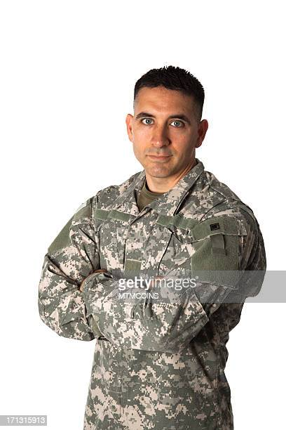 Disapproving Soldier