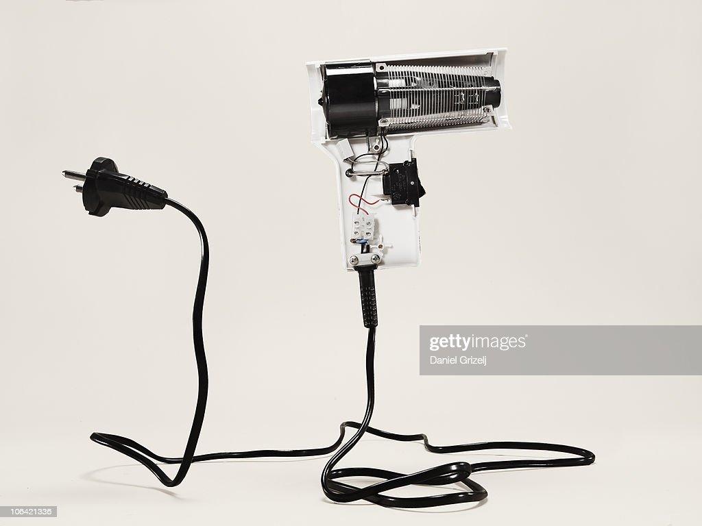 disassembled fan : Stock Photo