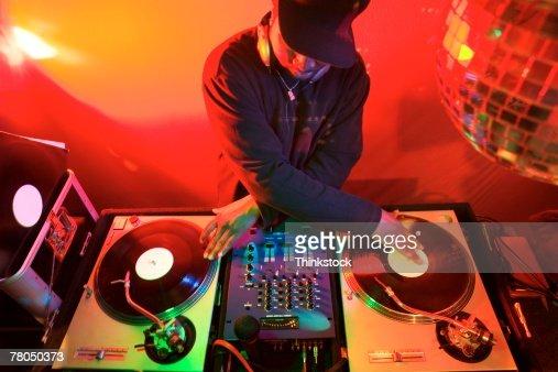 Disc jockey : Stock Photo
