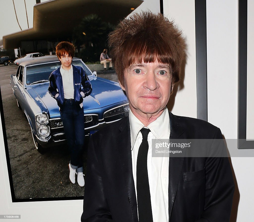 KROQ disc jockey <a gi-track='captionPersonalityLinkClicked' href=/galleries/search?phrase=Rodney+Bingenheimer&family=editorial&specificpeople=242954 ng-click='$event.stopPropagation()'>Rodney Bingenheimer</a> attends the 'Hell in The City of Angels: Chris Stein' photo exhibition opening at the Morrison Hotel Gallery on August 9, 2013 in West Hollywood, California.
