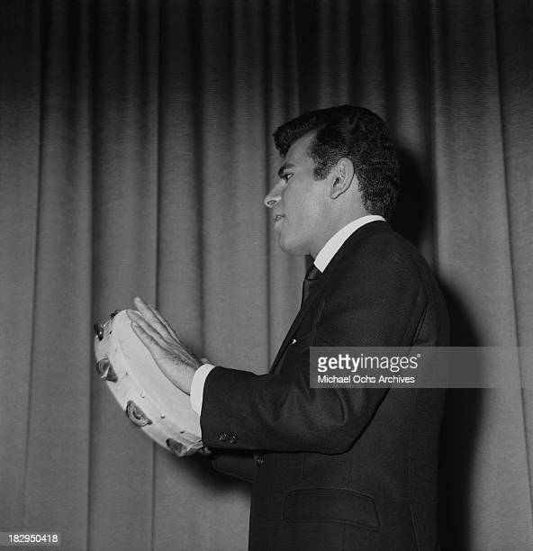Disc jockey TV personality and actor Casey Kasem on stage circa 1965 in Los Angeles California