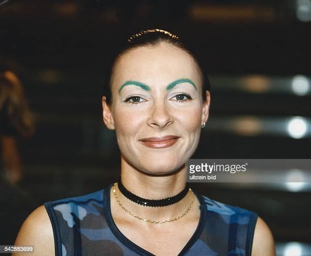 Discjockey Marusha Grüne Augenbrauen Aufgenommen Mai 1998