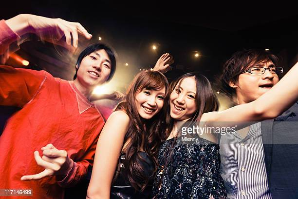 Disco Dance Japanese Night Club Party