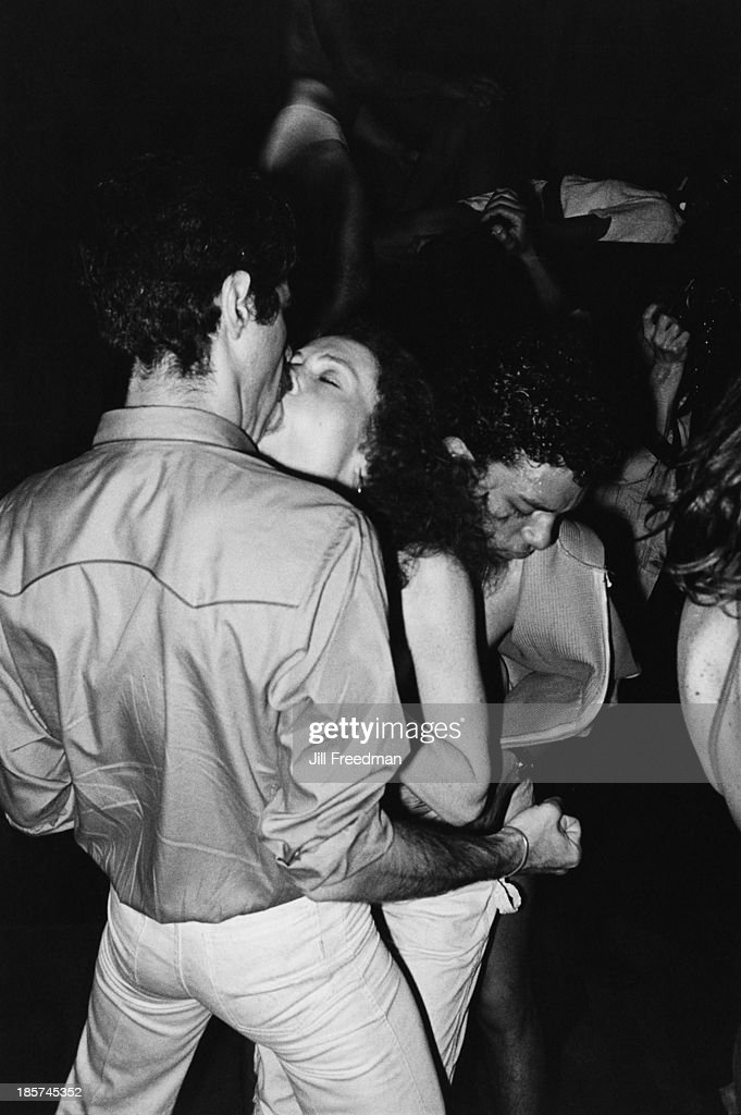 Disco dancing at a nightclub in Midtown Manhattan, New York City, 1979.