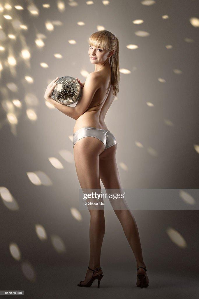 Disco girl : Stock Photo