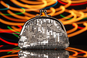 Disco glam wallet
