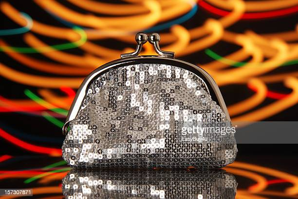 Disco glam wallet