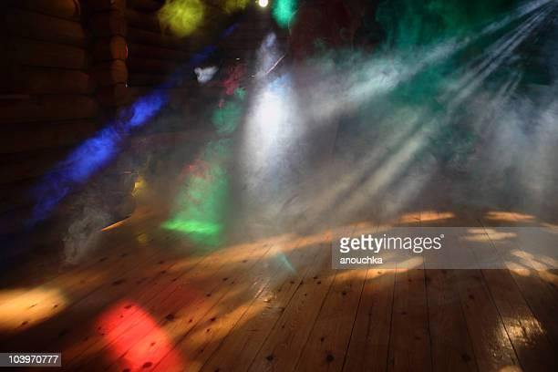 Disco Lights With smoke